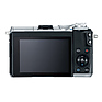 EOS M6 Mirrorless Digital Camera Body (Silver) Thumbnail 1