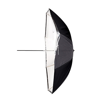 EL26359 White Reflective// Translucent 105cm// 41in Elinchrom Shallow 2-in-1 Umbrella