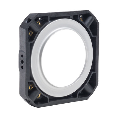 4-Pole Rotating Composite Speed Ring for Hensel Strobes Image 0