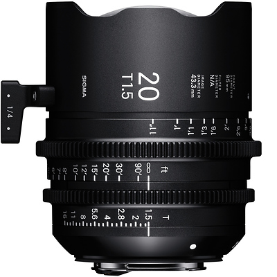 20mm T1.5 FF High Speed Prime Lens for PL Mount Image 0