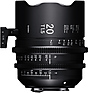 20mm T1.5 FF High Speed Prime Lens for PL Mount