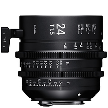 24mm T1.5 FF High Speed Prime Lens for Canon EF Mount Image 0