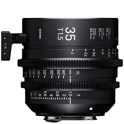 35mm T1.5 FF High Speed Prime Lens for PL Mount Image 0