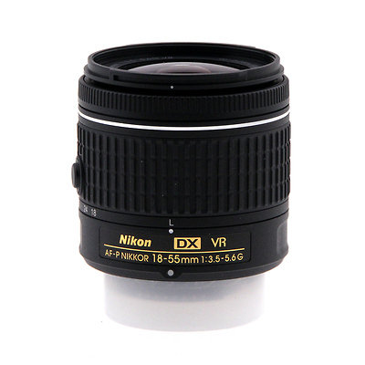 AF-P DX NIKKOR 18-55mm f/3.5-5.6G VR  Lens - Pre-Owned Image 0