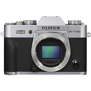 X-T20 Mirrorless Digital Camera Body (Silver)
