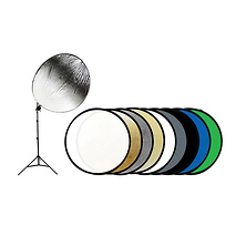 43 In. 9-in-1 Reflector Kit with Stand Image 0