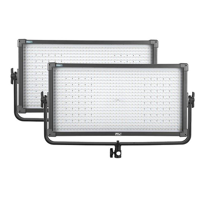 K8000 Plus LED Bi-Color Studio Panel 2-light Kit Image 0