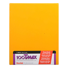 4 x 5 In. Professional T-Max 100 Black and White Negative Film (10 Sheets) Image 0
