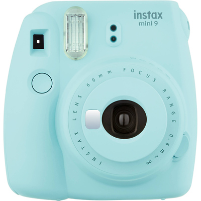 Instax Mini 9 Instant Film Camera (Ice Blue) Image 0