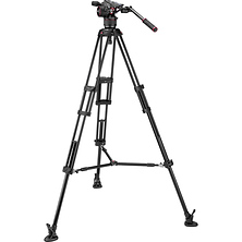 Nitrotech N8 Video Head & 546B Pro Tripod with Mid-Level Spreader Image 0