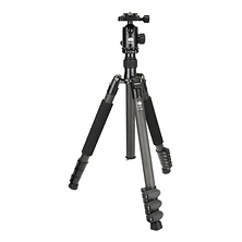 ET-2204 Carbon Fiber Tripod with E-20 Ball Head Image 0