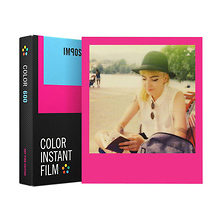 Color Instant Film for 600 (Hot Pink Edition, 8 Exposures) Image 0