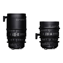18-35mm and 50-100mm Cine High-Speed Zoom Lenses for Canon EF Mount with Case Image 0