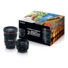 Advanced Two Lens Kit with 50mm f/1.4 and 17-40mm f/4L Lenses Image 0