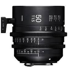 50mm T1.5 FF High Speed Prime Lens for Sony E Mount Image 0