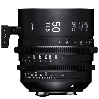 50mm T1.5 FF High Speed Prime Lens for Canon EF Mount Image 0