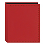 Instant-Print Photo Album with Leatherette Covers - 40 Pockets (Red)