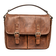 100th Anniversary Premium Leather Bag (Antique Cognac) Image 0