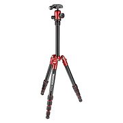 Element Small Aluminum Traveler Tripod (Red)