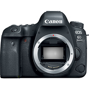 EOS 6D Mark II Digital SLR Camera Body with 3 Years of CarePAK PLUS Accidental Damage Protection