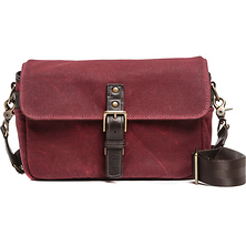 The Bowery Camera Bag (Canvas, Crimson) Image 0