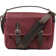 Prince Street Camera Messenger Bag (Crimson, Waxed Canvas) Image 0