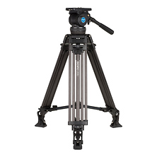 C674TM Carbon Fiber Tandem-Leg Video Tripod (100mm Bowl) Image 0