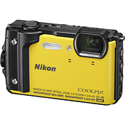 COOLPIX W300 Digital Camera (Yellow)
