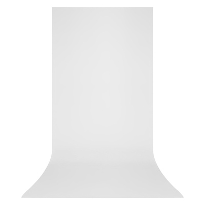 X-Drop Wrinkle-Resistant Backdrop High-Key White Sweep (5 x 12 ft.) Image 0