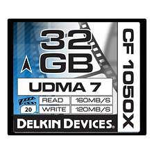 32GB CF 1050X UDMA 7 Cinema Memory Card Image 0