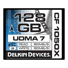 128GB CF 1050X UDMA 7 Cinema Memory Card Image 0