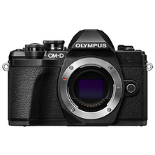 OM-D E-M10 Mark III Mirrorless Micro Four Thirds Digital Camera Body (Black) Image 0