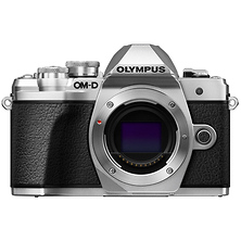 OM-D E-M10 Mark III Mirrorless Micro Four Thirds Digital Camera Body (Silver) Image 0
