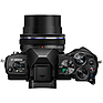 OM-D E-M10 Mark III Mirrorless Micro Four Thirds Digital Camera with 14-42mm Lens (Black) Thumbnail 3