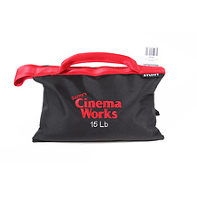 Cinema Works 15 lb Sandbag (Black with Red Handle) Image 0