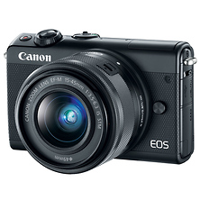 EOS M100 Mirrorless Digital Camera with 15-45mm Lens (Black) Image 0
