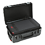 iSeries 2011-7 Case with Removable Zippered Divider Interior (Black)