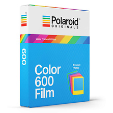 Color 600 Instant Film (8 Exposures, Color Frame) Image 0