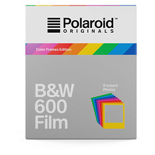 Black & White 600 Instant Film (Color Frames Edition, 8 Exposures) Image 0