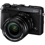X-E3 Mirrorless Digital Camera with 18-55mm Lens (Black)