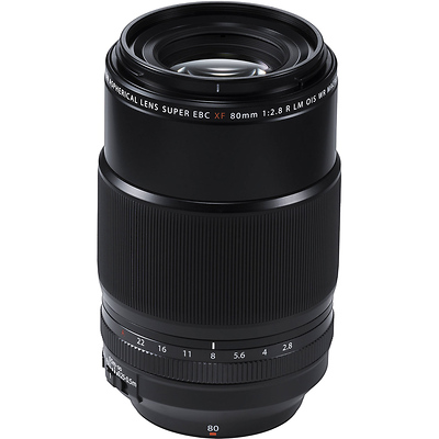 XF 80mm f/2.8 R LM OIS WR Macro Lens Image 0