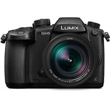 Lumix DC-GH5 Mirrorless Micro Four Thirds Digital Camera with 12-60mm Lens Image 0