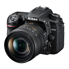 D7500 Digital SLR Camera with 16-80mm VR Lens (Black) Image 0