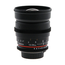 24mm T/1.5 Cine Lens for Nikon - Open Box Image 0