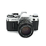 AE-1 35mm Film Camera Body Chrome w/ 50mm f/1.4 Lens - Pre-Owned