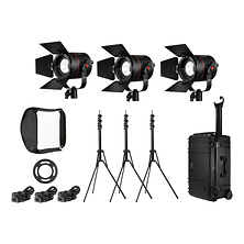 P360 Pro Plus 3-Light LED Interview Travel Kit Image 0