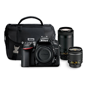D7200 Digital SLR Camera with 18-55mm and 70-300mm Lenses Kit