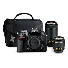 D7200 Digital SLR Camera with 18-55mm and 70-300mm Lenses Kit Image 0