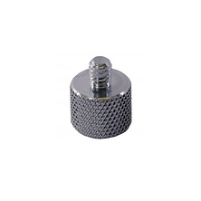 Steel Male to 1/4 Female 3/8 Adapter Image 0
