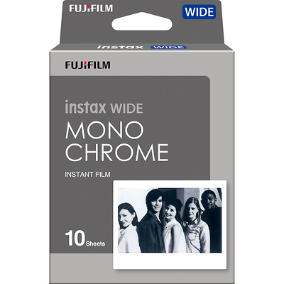 Instax Wide Monochrome Instant Film (10 Exposures) Image 0